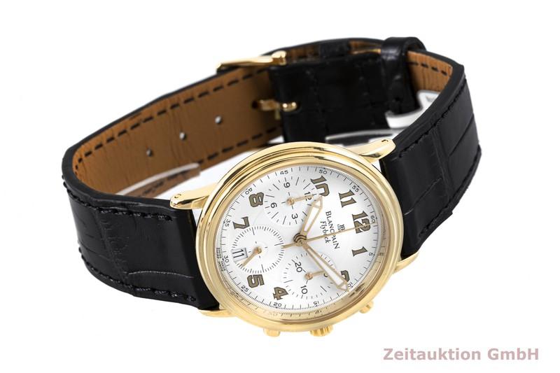 gebrauchte Luxusuhr Blancpain Leman Chronograph 18k Gold Automatik Kal. F185  | 2003658 _0