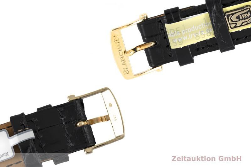 gebrauchte Luxusuhr Blancpain Leman Chronograph 18k Gold Automatik Kal. F185  | 2003658 _1