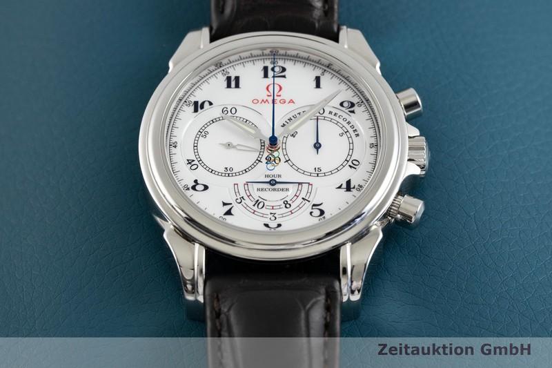 gebrauchte Luxusuhr Omega De Ville Chronograph Stahl Automatik Kal. 3202 Ref. 422.13.41.50.04.001, 177.1713  | 2003660 _1