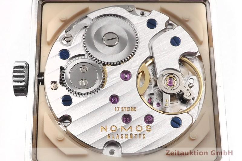 gebrauchte Luxusuhr Nomos Tetra Stahl Handaufzug Kal. alpha    2003681 _0