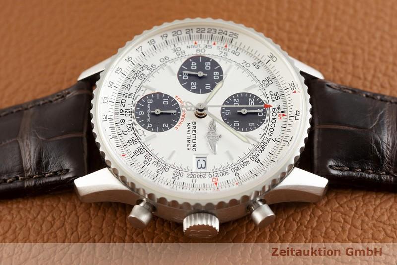 gebrauchte Luxusuhr Breitling Navitimer Chronograph Platin Automatik Kal. B13, ETA 7750 Ref. L13330 LIMITED EDITION | 2003682 _0