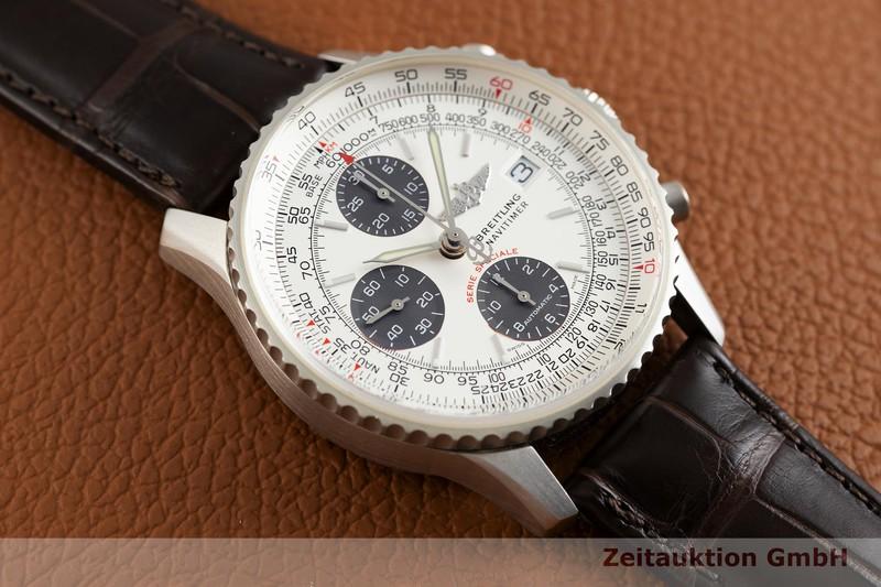 gebrauchte Luxusuhr Breitling Navitimer Chronograph Platin Automatik Kal. B13, ETA 7750 Ref. L13330 LIMITED EDITION | 2003682 _1