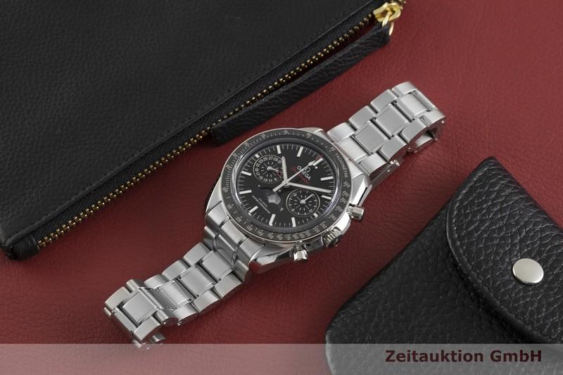 gebrauchte Luxusuhr Omega Speedmaster Chronograph Stahl Automatik Kal. 9904 Ref. 304.30.44.52.01.001  | 2003686 _0