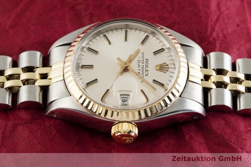 gebrauchte Luxusuhr Rolex Lady Date Stahl / Gold Automatik Kal. 2030 Ref. 6917  | 2003688 _0