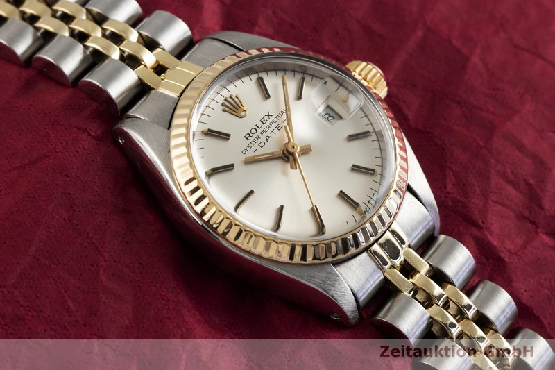 gebrauchte Luxusuhr Rolex Lady Date Stahl / Gold Automatik Kal. 2030 Ref. 6917  | 2003688 _1