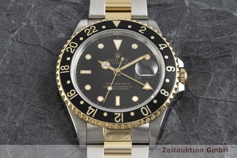 gebrauchte Luxusuhr Rolex GMT Master II Stahl / Gold Automatik Kal. 3185 Ref. 16713  | 2003695 _1