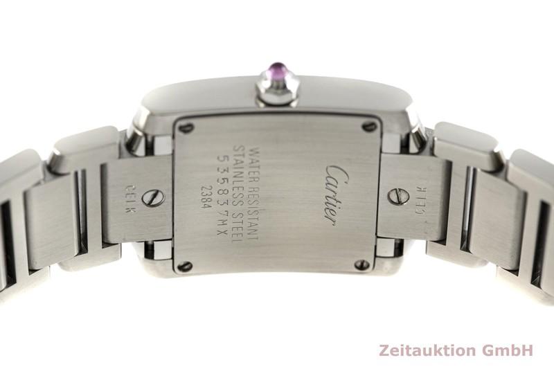 gebrauchte Luxusuhr Cartier Tank Francaise Stahl Quarz Kal. 057 Ref. 2384    2003698 _0