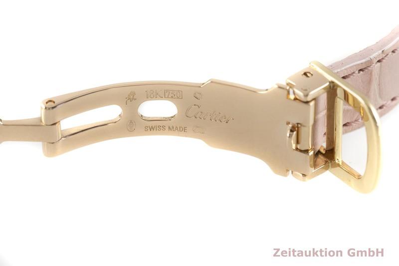 gebrauchte Luxusuhr Cartier Tonneau 18k Gold Handaufzug Kal. 060 MC Ref. 2595E  | 2003705 _1