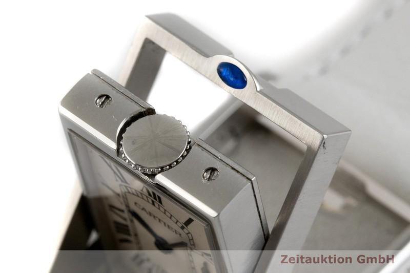 gebrauchte Luxusuhr Cartier Basculante Stahl Quarz Kal. 012N Ref. 2522  | 2003706 _0