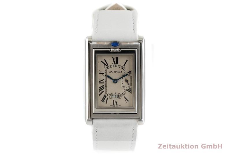 gebrauchte Luxusuhr Cartier Basculante Stahl Quarz Kal. 012N Ref. 2522  | 2003706 _1