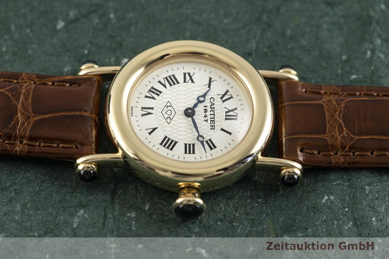 gebrauchte Luxusuhr Cartier Diabolo 18k Gold Quarz Kal. 157.06 Ref. 1440    2003707 _0