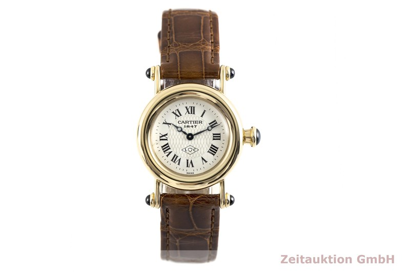 gebrauchte Luxusuhr Cartier Diabolo 18k Gold Quarz Kal. 157.06 Ref. 1440    2003707 _1