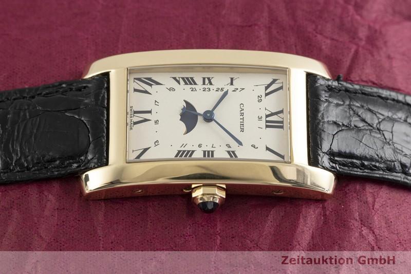 gebrauchte Luxusuhr Cartier Tank Américaine 18k Gold Quarz Kal. 19, 619 Ref. 819908  | 2003711 _0