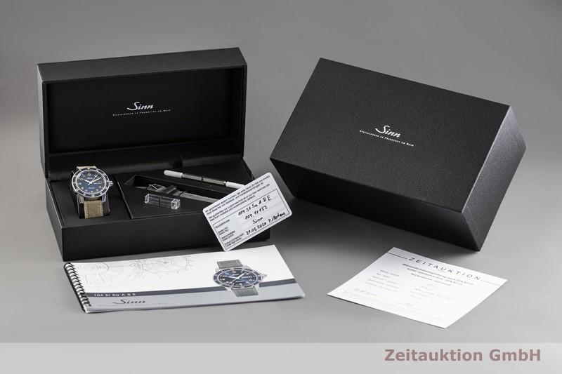 gebrauchte Luxusuhr Sinn 104ST Stahl Automatik Kal. Sellita SW 220-1 Ref. 104.0112  | 2003714 _0