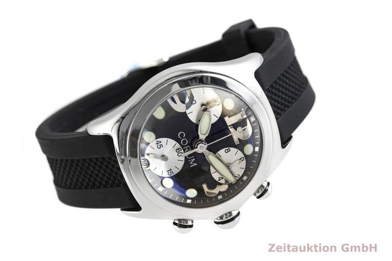 gebrauchte Luxusuhr Corum Bubble Chronograph Stahl Quarz Kal. ETA 251.272 Ref. 396.150.20    2003739 _0