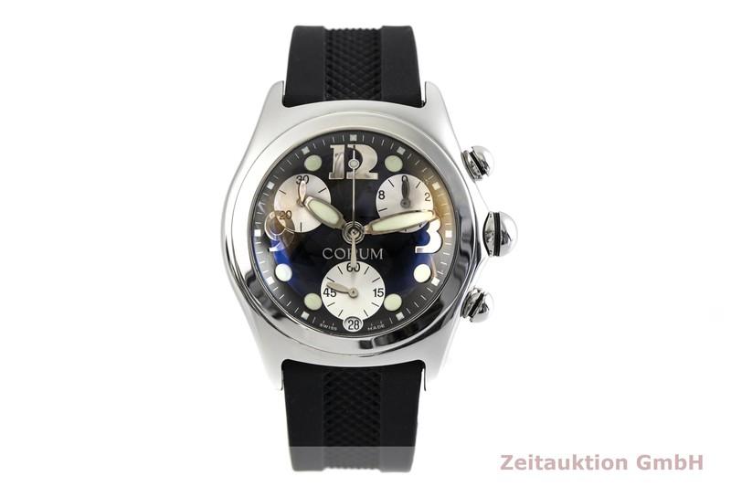 gebrauchte Luxusuhr Corum Bubble Chronograph Stahl Quarz Kal. ETA 251.272 Ref. 396.150.20    2003739 _1