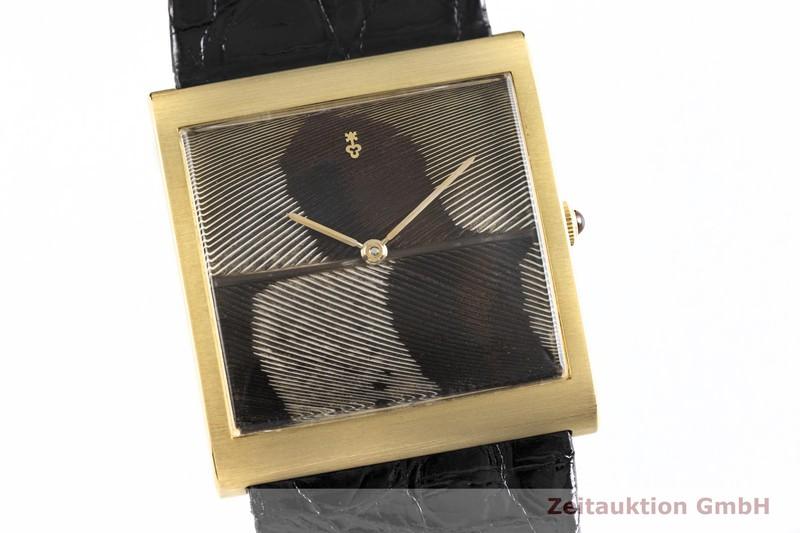gebrauchte Luxusuhr Corum Buckingham 18k Gold Handaufzug Kal. Peseux Ref. 57181 VINTAGE  | 2003751 _0