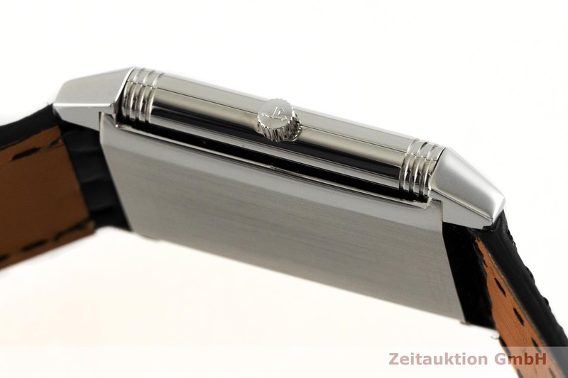 gebrauchte Luxusuhr Jaeger LeCoultre Reverso Stahl Quarz Kal. 608 Ref. 250.8.08  | 2003753 _0