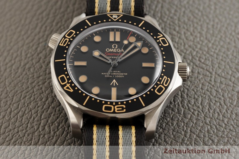 gebrauchte Luxusuhr Omega Seamaster Titan Automatik Kal. 8806 Ref. 210.92.42.20.01.001  | 2003763 _1