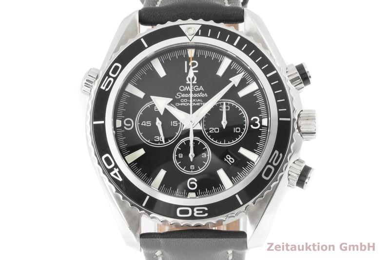 gebrauchte Luxusuhr Omega Seamaster Chronograph Stahl Automatik Kal. 3313 Ref. 2910.50.81  | 2003774 _0