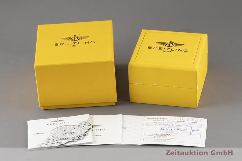 gebrauchte Luxusuhr Breitling Navitimer Cosmonaute Chronograph Stahl / Gold Handaufzug Ref. D12022  | 2003782 _0