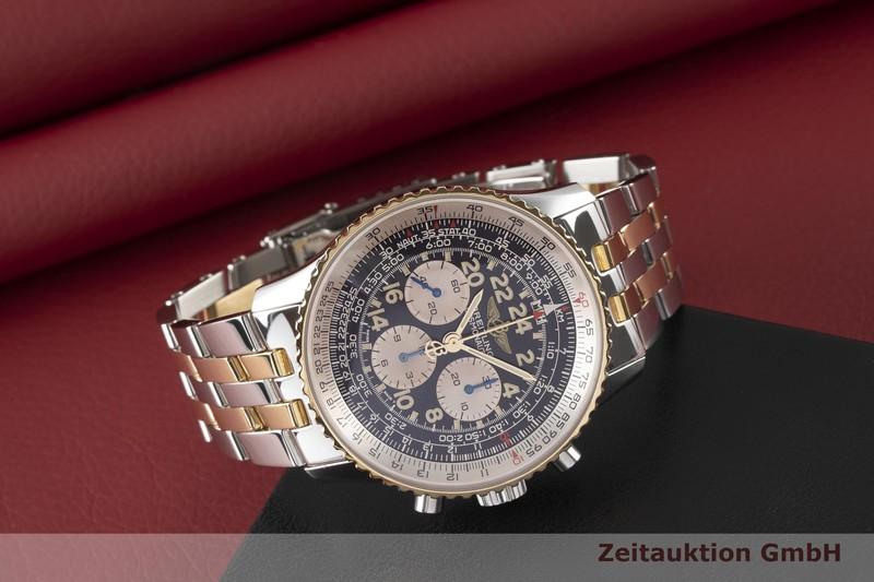 gebrauchte Luxusuhr Breitling Navitimer Cosmonaute Chronograph Stahl / Gold Handaufzug Ref. D12022  | 2003782 _1