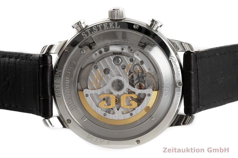 gebrauchte Luxusuhr Glashütte Senator Sixties Chronograph Stahl Automatik Kal. 39 Ref. 1-39-34-03-22-04    2003790 _0