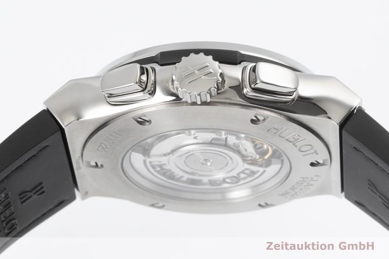 gebrauchte Luxusuhr Hublot Classic Fusion Chronograph Titan Automatik Kal. Sellita SW 300 Ref. 521.NX.7071.LR  | 2003793 _0