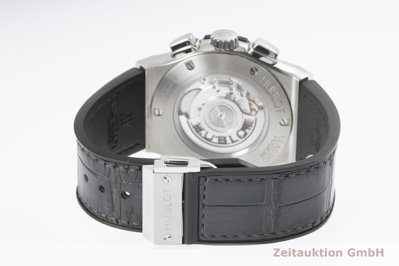 gebrauchte Luxusuhr Hublot Classic Fusion Chronograph Titan Automatik Kal. Sellita SW 300 Ref. 521.NX.7071.LR  | 2003793 _1
