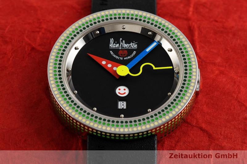 gebrauchte Luxusuhr Alain Silberstein Rondo Dots Stahl Automatik Kal. ETA 2836-2 LIMITED EDITION | 2003796 _1