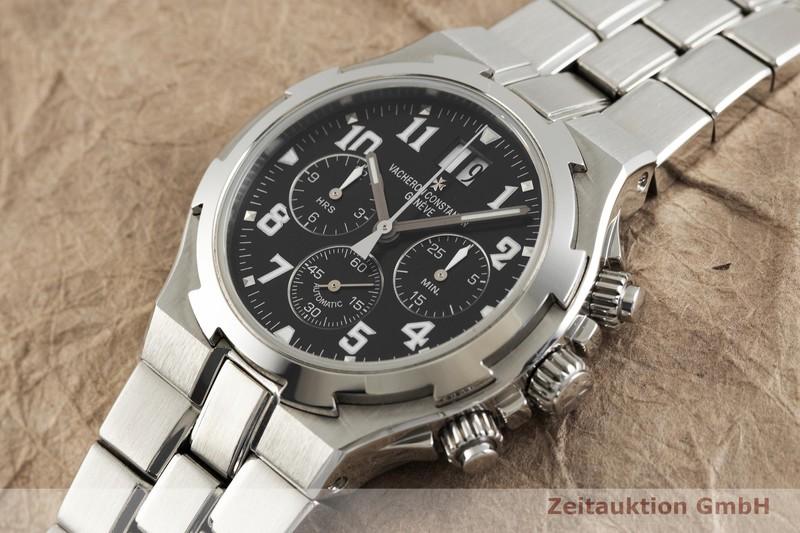 gebrauchte Luxusuhr Vacheron & Constantin Overseas Chronograph Stahl Automatik Kal. 1137 Ref. 49140  | 2003823 _0