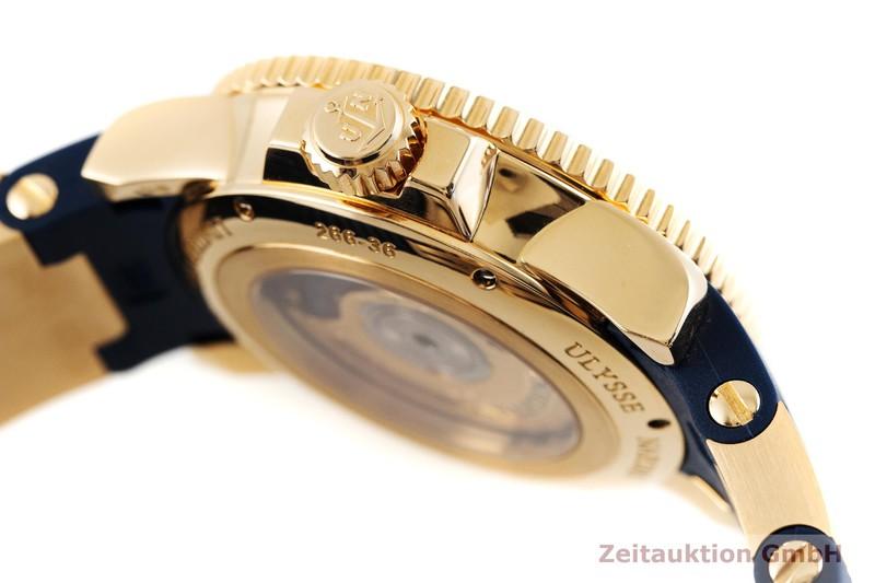 gebrauchte Luxusuhr Ulysse Nardin Marine Chronometer 18k Rotgold Automatik Kal. UN26-34245 Ref. 266-36 LIMITED EDITION | 2003839 _0