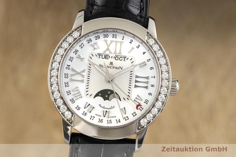 gebrauchte Luxusuhr Blancpain Leman 18k Weissgold Automatik Kal. 6753  | 2003841 _0