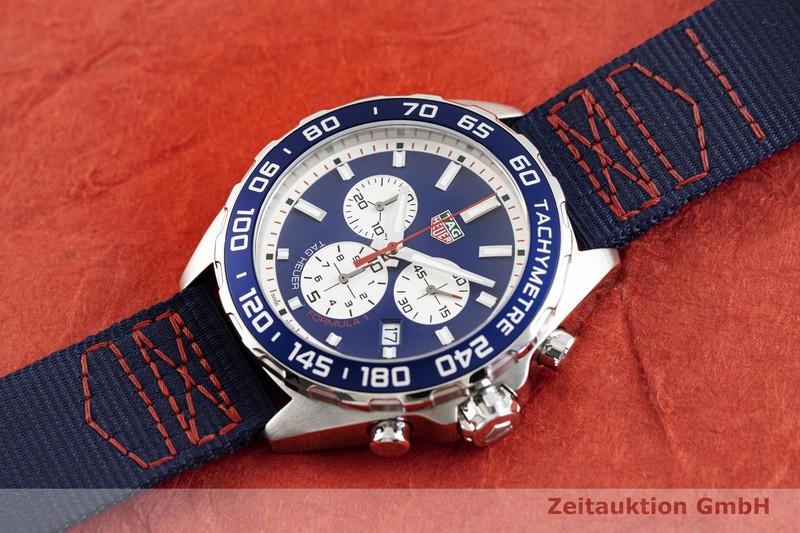 gebrauchte Luxusuhr Tag Heuer Formula 1 Chronograph Stahl Quarz Kal. Ronda 5040.D Ref. CAZ1018  | 2003845 _0