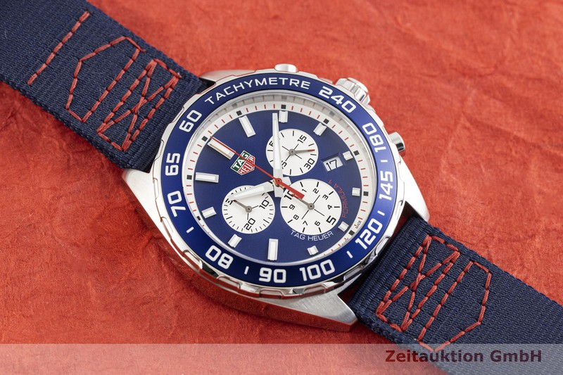 gebrauchte Luxusuhr Tag Heuer Formula 1 Chronograph Stahl Quarz Kal. Ronda 5040.D Ref. CAZ1018  | 2003845 _1