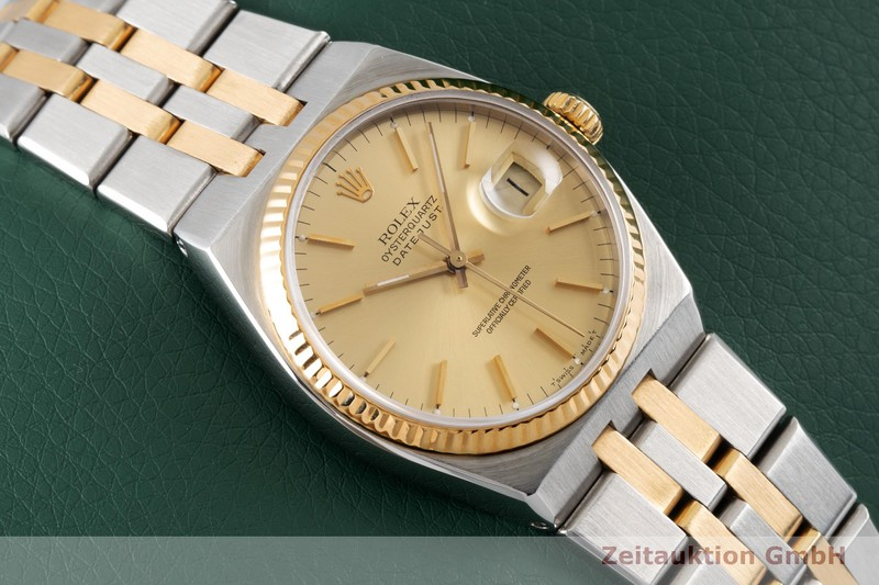 gebrauchte Luxusuhr Rolex Datejust Stahl / Gold Quarz Kal. 5035 Ref. 17013    2003850 _1