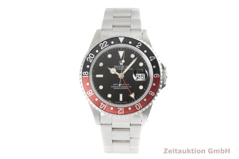 gebrauchte Luxusuhr Rolex GMT Master Stahl Automatik Kal. 3175 Ref. 16700    2003852 _0
