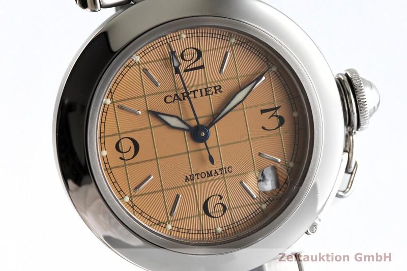 gebrauchte Luxusuhr Cartier Pasha Stahl Automatik Kal. 049 Ref. 2324    2003857 _0