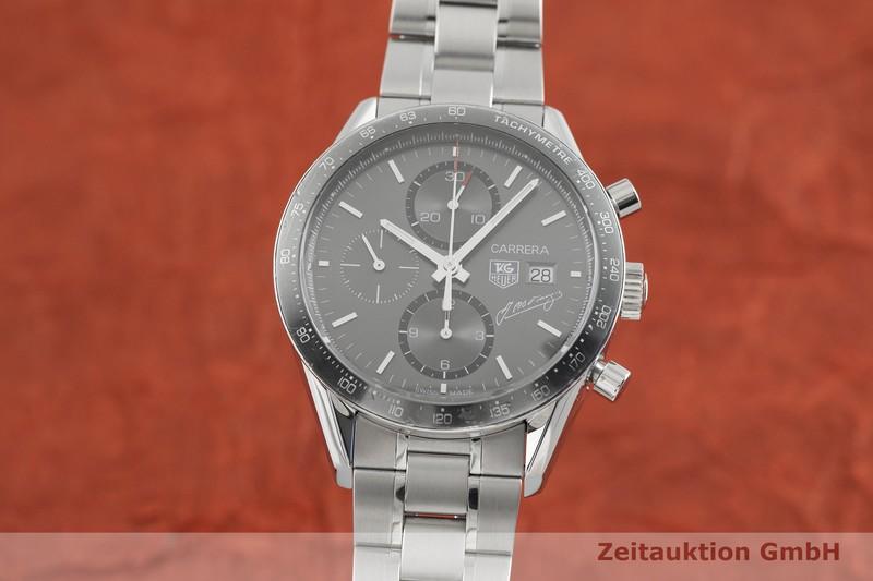 gebrauchte Luxusuhr Tag Heuer Carrera Chronograph Stahl Automatik Kal. 16, ETA 7750 Ref. CV201.C LIMITED EDITION | 2003868 _0
