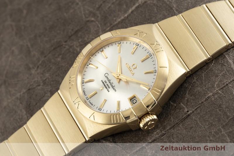 gebrauchte Luxusuhr Omega Constellation 18k Gold Automatik Kal. 8501 Ref. 123.50.38.21.02.002  | 2003876 _0
