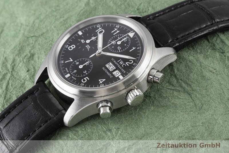 gebrauchte Luxusuhr IWC Fliegerchronograph Chronograph Stahl Automatik Kal. C.7922 Ref. 3706  | 2003883 _0