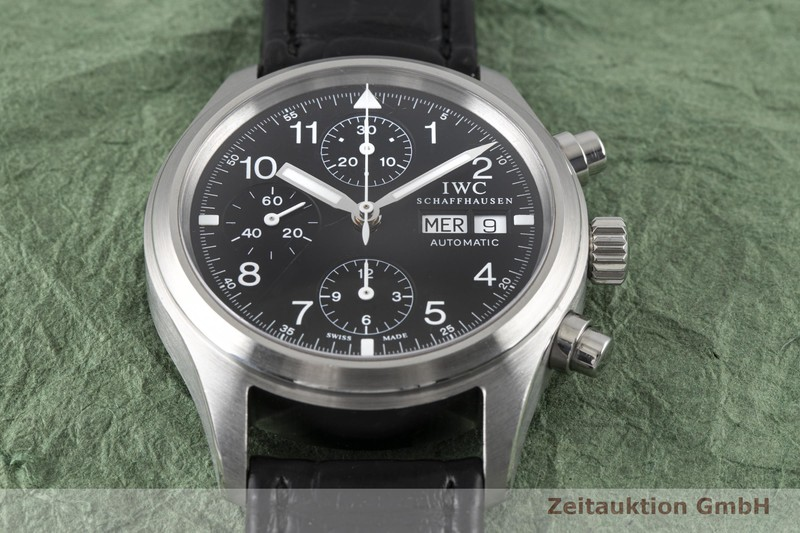 gebrauchte Luxusuhr IWC Fliegerchronograph Chronograph Stahl Automatik Kal. C.7922 Ref. 3706  | 2003883 _1
