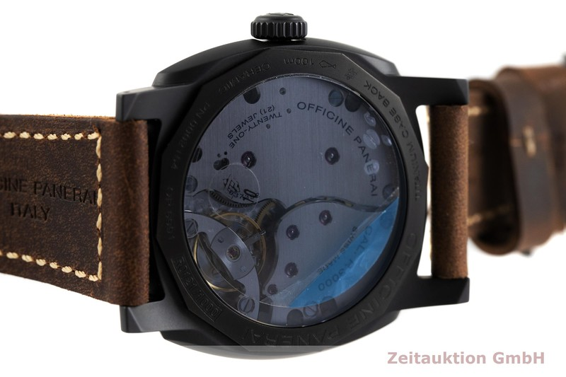 gebrauchte Luxusuhr Panerai Radiomir Keramik / Titan Handaufzug Kal. P.3000 Ref. PAM00577 LIMITED EDITION | 2003891 _0