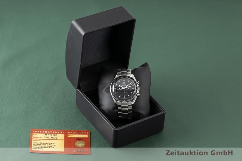 gebrauchte Luxusuhr Omega Speedmaster Moonwatch Chronograph Stahl Handaufzug Kal. 1861 Ref. 3574.51.00, 145.0226 LIMITED EDITION | 2003895 _0