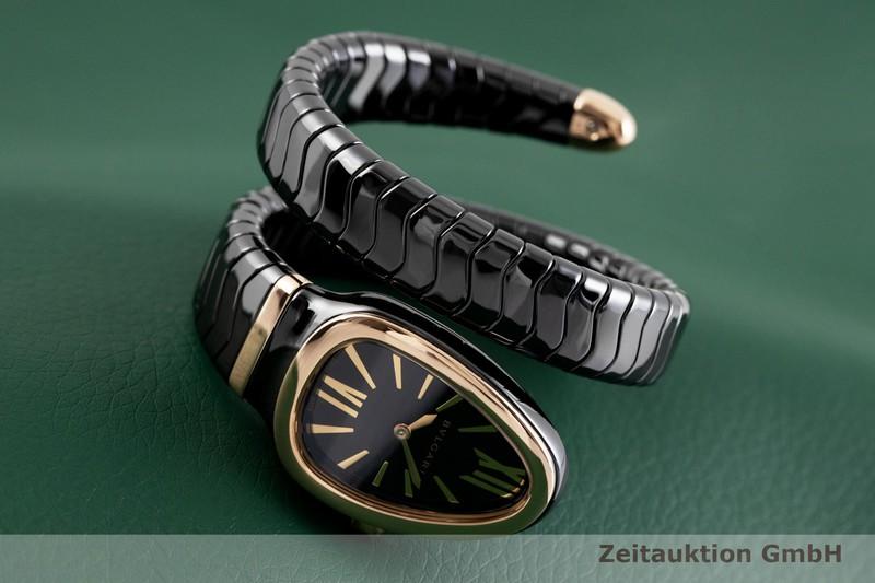 gebrauchte Luxusuhr Bvlgari Serpenti Keramik / Gold Quarz Ref. SPC35BG  | 2003907 _1