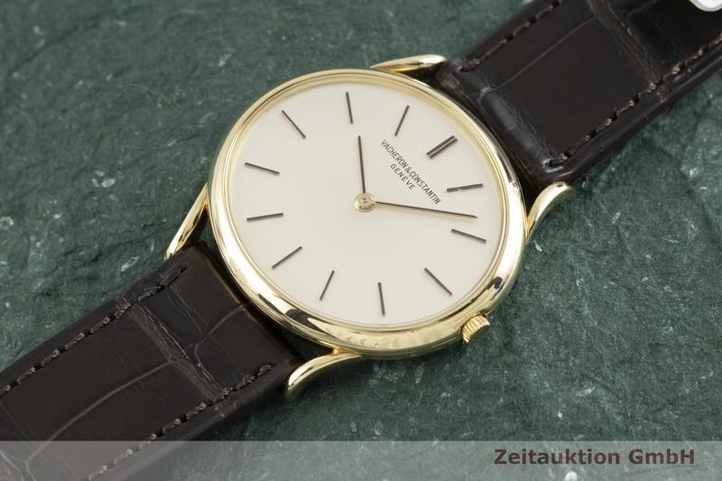 gebrauchte Luxusuhr Vacheron & Constantin Geneve 18k Gold Handaufzug Kal. 1003/1 Ref. 2107 VINTAGE    2003918 _0
