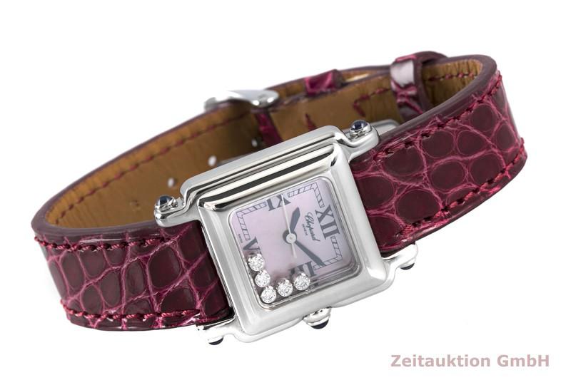 gebrauchte Luxusuhr Chopard Happy Sport Stahl Quarz Kal. ETA 980.106 Ref. 27/8892-23  | 2003921 _0