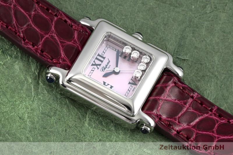 gebrauchte Luxusuhr Chopard Happy Sport Stahl Quarz Kal. ETA 980.106 Ref. 27/8892-23  | 2003921 _1