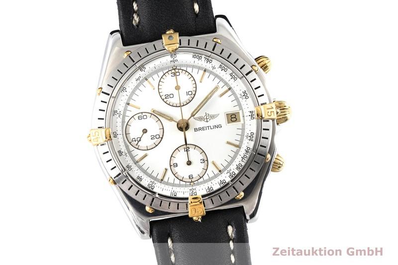 gebrauchte Luxusuhr Breitling Chronomat Chronograph Stahl / Gold Automatik Kal. Valjoux 7750 Ref. B13047, 81.950  | 2003928 _0