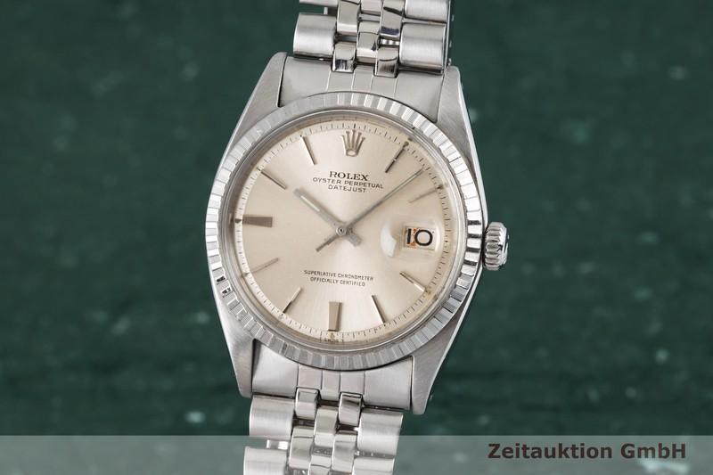 gebrauchte Luxusuhr Rolex Datejust Stahl Automatik Kal. 1570 Ref. 1603 VINTAGE  | 2003930 _0